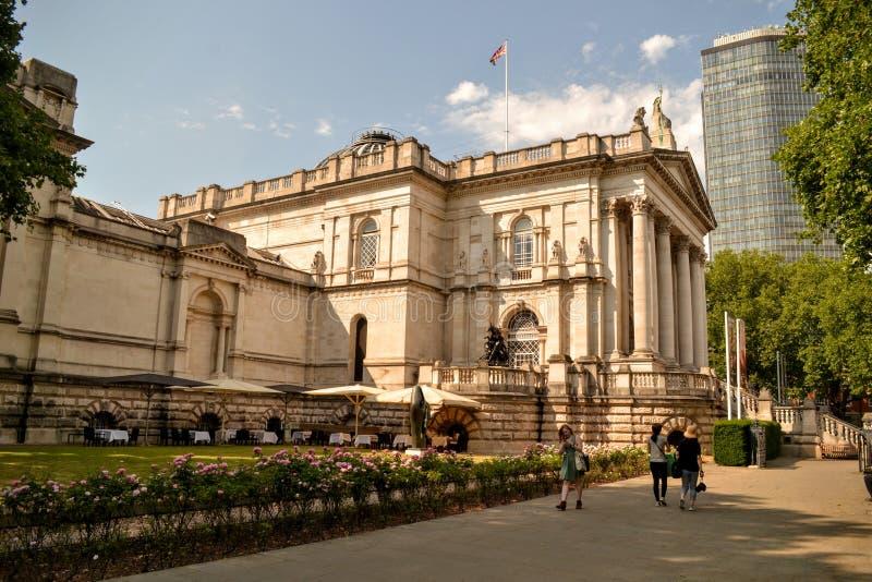 Tate Brytania Millbank Londyn fotografia royalty free