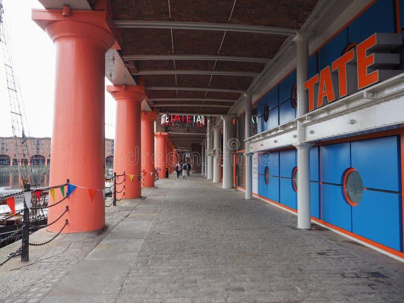 Tate Liverpool à Liverpool photographie stock libre de droits