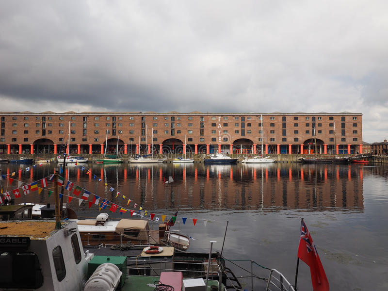 Tate Liverpool à Liverpool photos stock