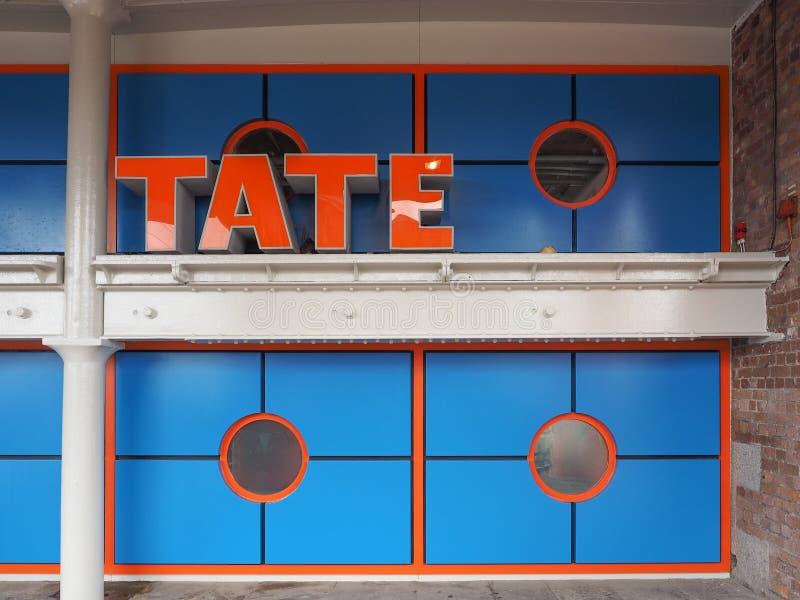 Tate Liverpool à Liverpool photos libres de droits