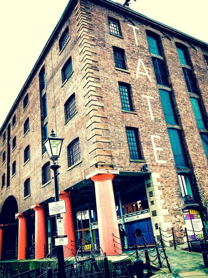 Tate Liverpool royalty free stock photos