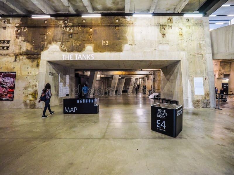 Tate Modern à Londres (hdr) photographie stock libre de droits