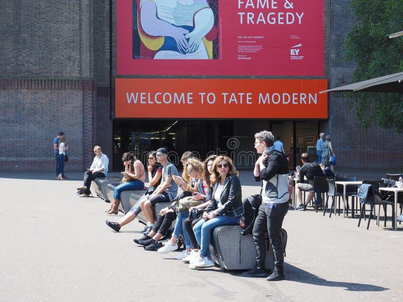 Tate Modern en Londres fotografía de archivo