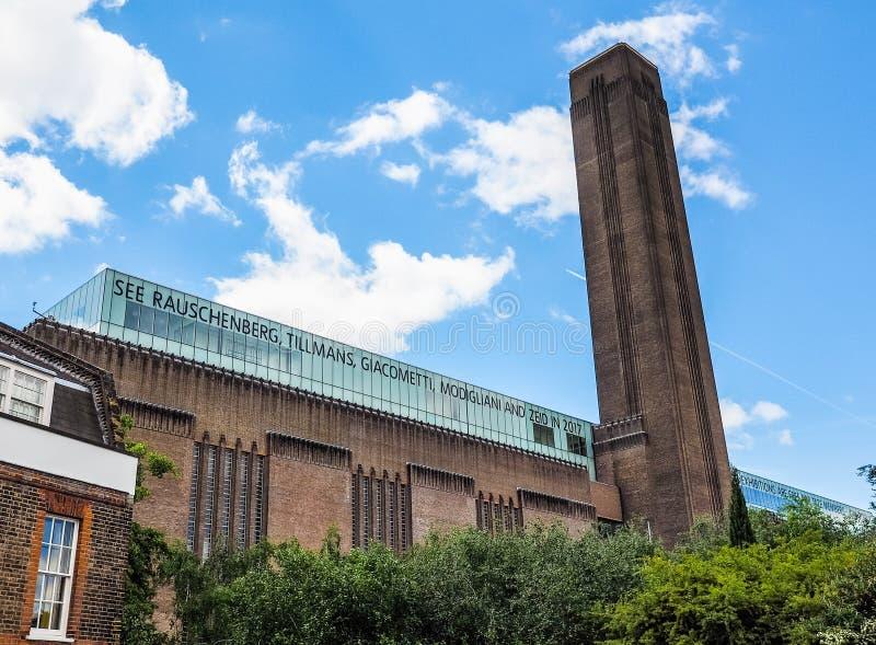 Tate Modern en Londres (hdr) imágenes de archivo libres de regalías