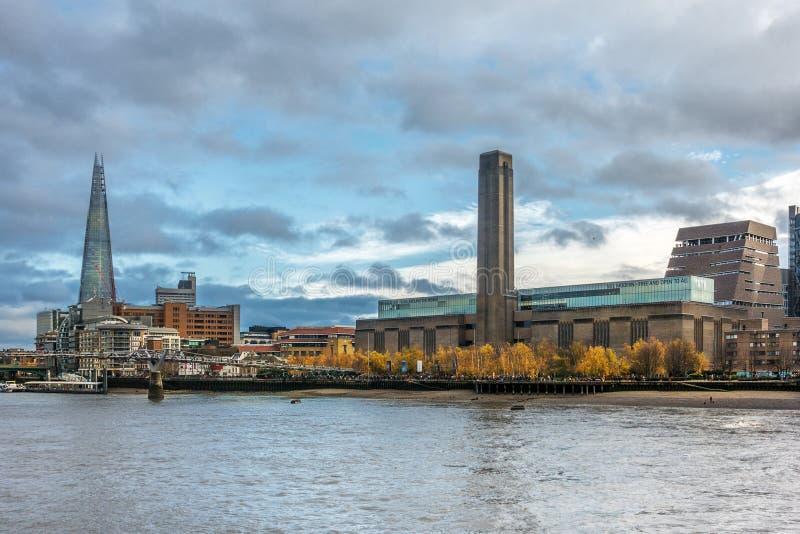 Tate Modern-galerij in Londen stock fotografie