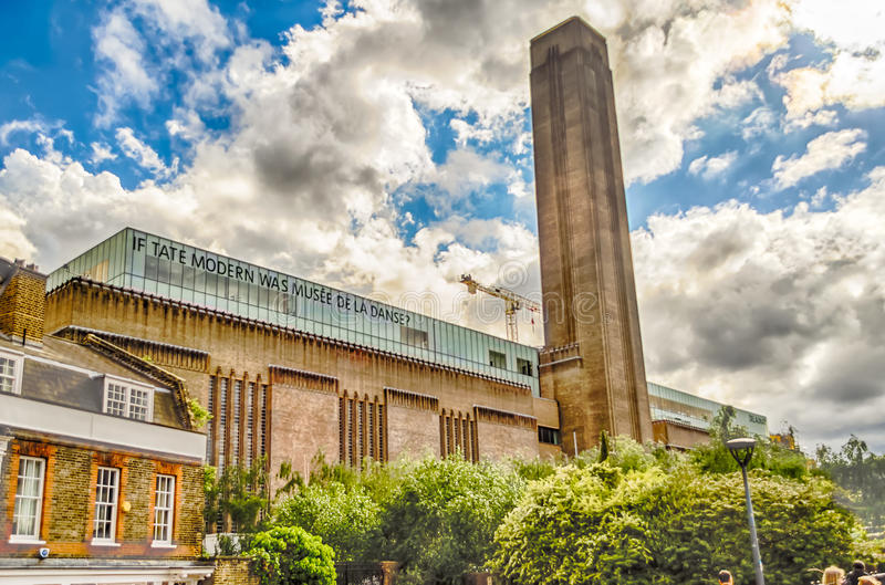 Tate Modern Gallery, Londres photographie stock