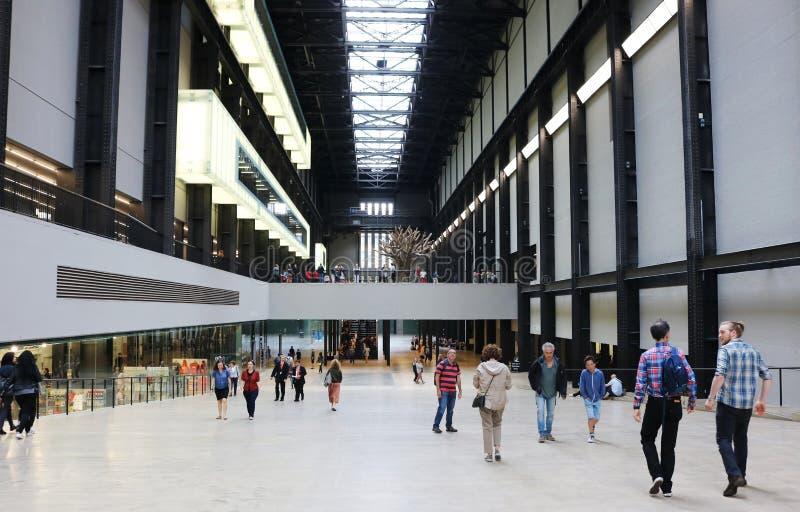 Tate Modern-ingang royalty-vrije stock foto's