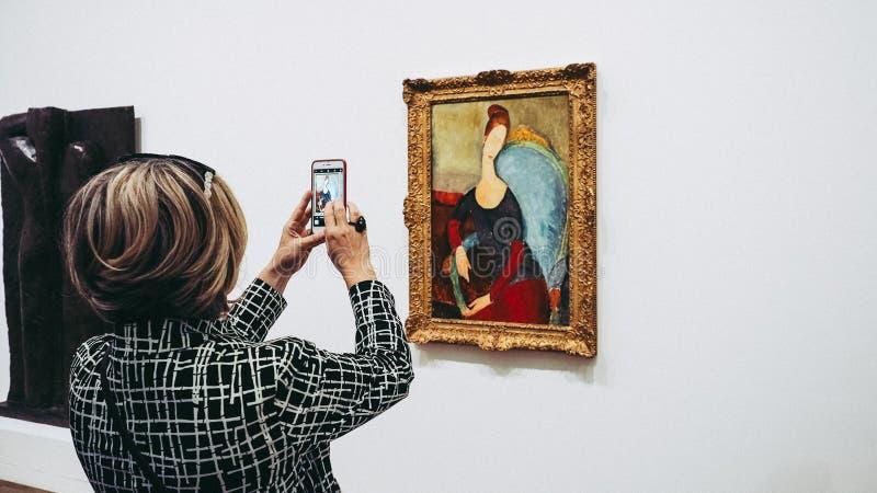 Tate Modern in Londen stock fotografie