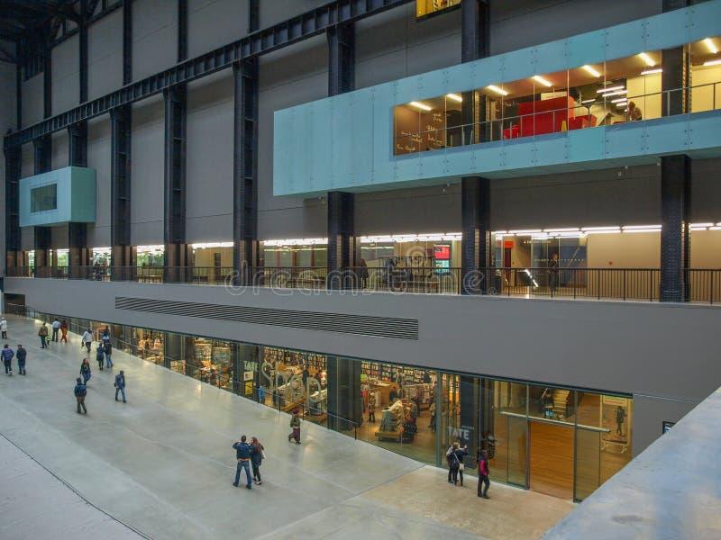 Tate Modern, Londen royalty-vrije stock afbeelding
