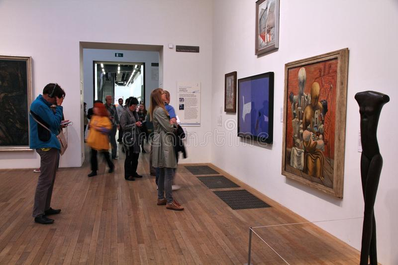 Tate Modern, Londres fotografía de archivo