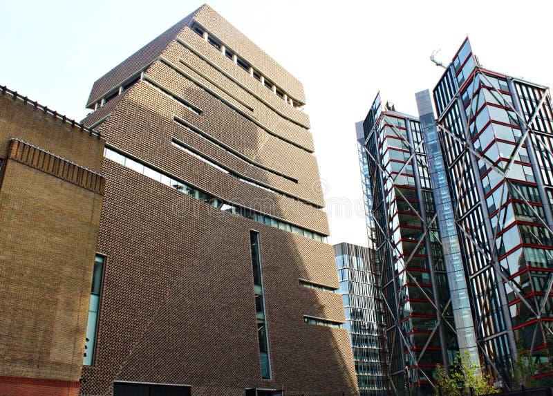 Tate Modern New Building à Londres R-U image libre de droits