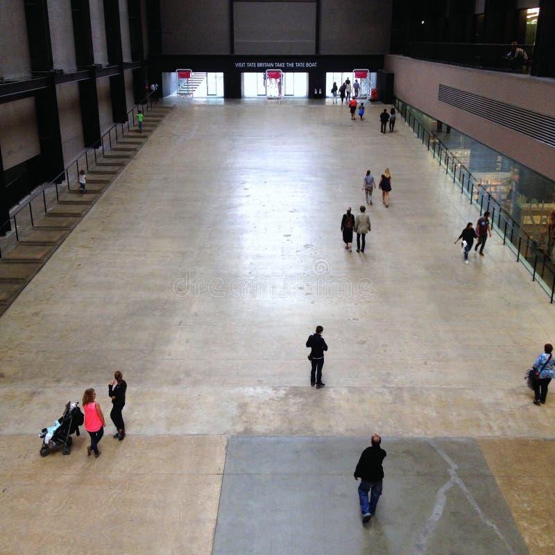 Tate Modern Turbine Hall stockfotografie