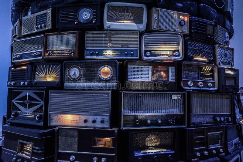 Tate moderne radio's royalty-vrije stock afbeeldingen