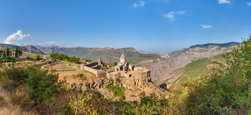 Tatev en Armenia foto de archivo libre de regalías