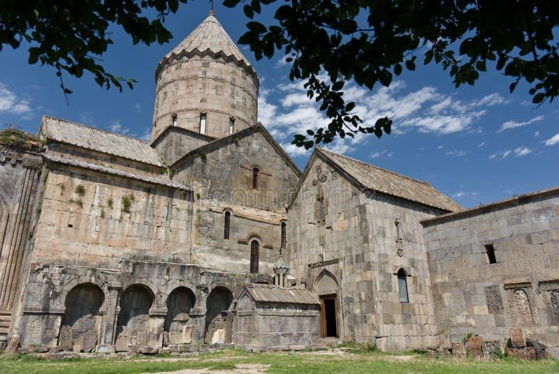 Tatev kloster arkivbild