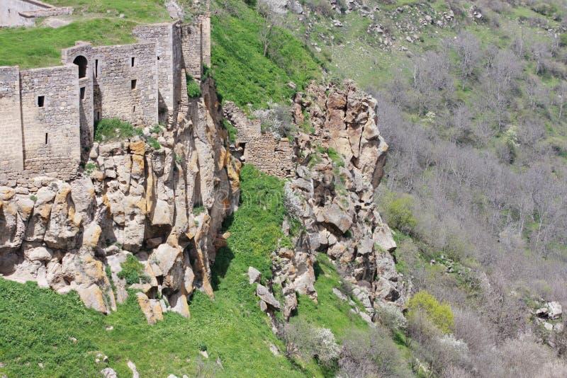 Tatev klostervägg arkivfoton