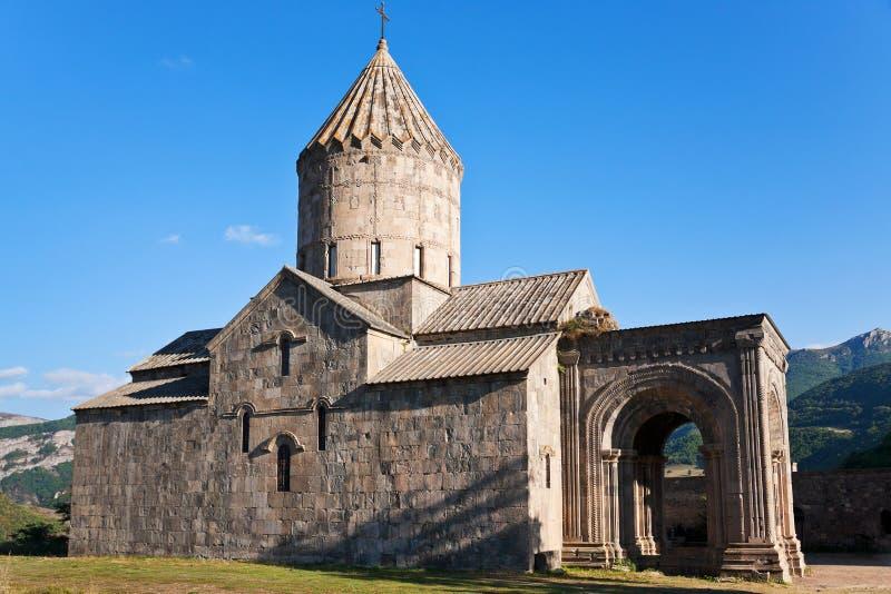 Tatevklooster in Armenië royalty-vrije stock foto's