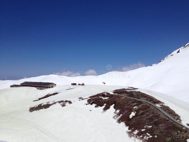 Tateyama Kurobe trasy Japonia Alpejscy Alps, Toyama, Japonia obraz royalty free