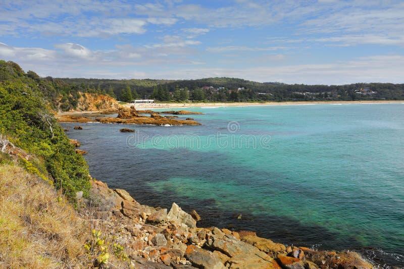 Tathra sur Sapphire Coast image libre de droits
