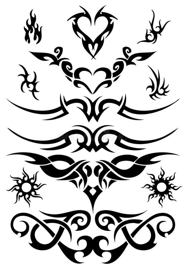 Tatoegering vector illustratie
