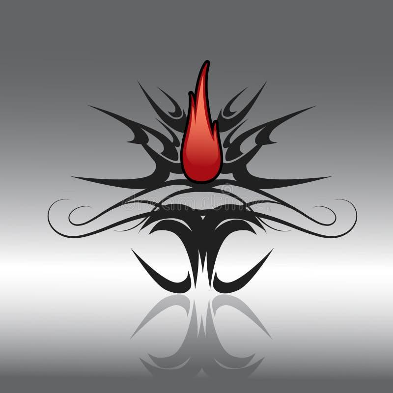 tatoo конструкции иллюстрация штока