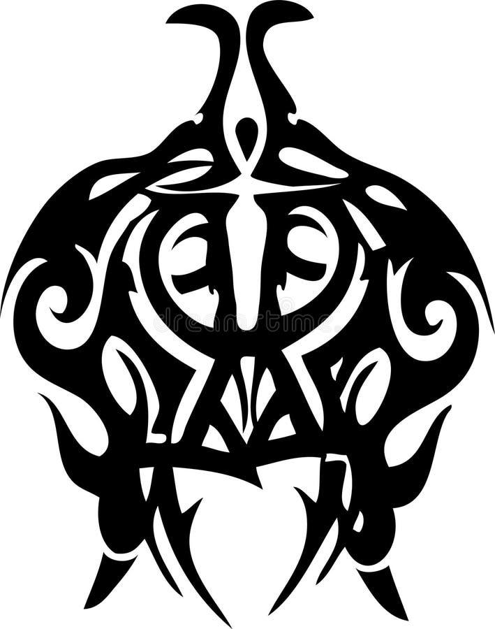 tatoo соплеменное иллюстрация вектора