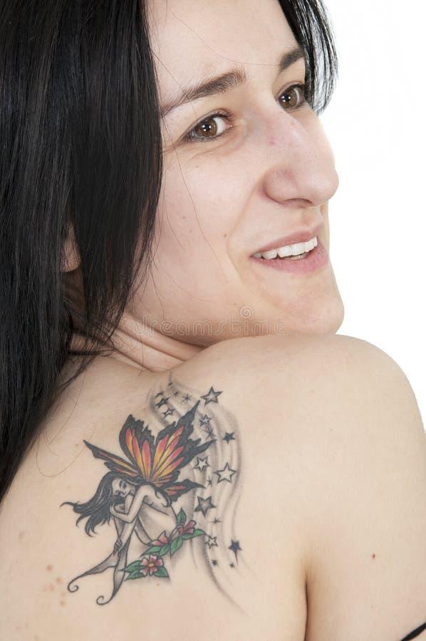 Download Tatoo stock photo. Image of pose, stars, caucasian, attractive - 9606874