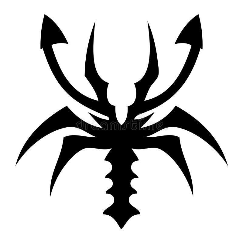 Tatoo dello scorpione royalty illustrazione gratis