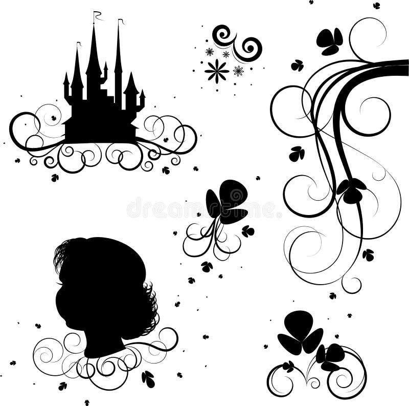 Tatoo, patroon vector illustratie