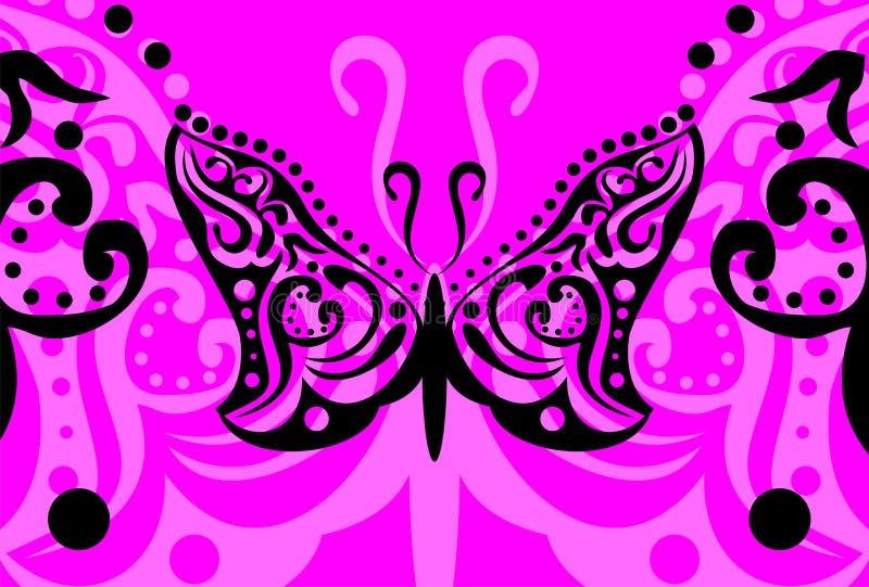 Download Tatouage Background7 De Papillon Illustration Stock - Illustration du type, carte: 45359803