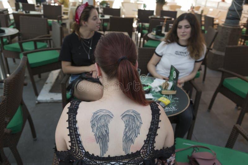 Tatouage comme mode photos libres de droits