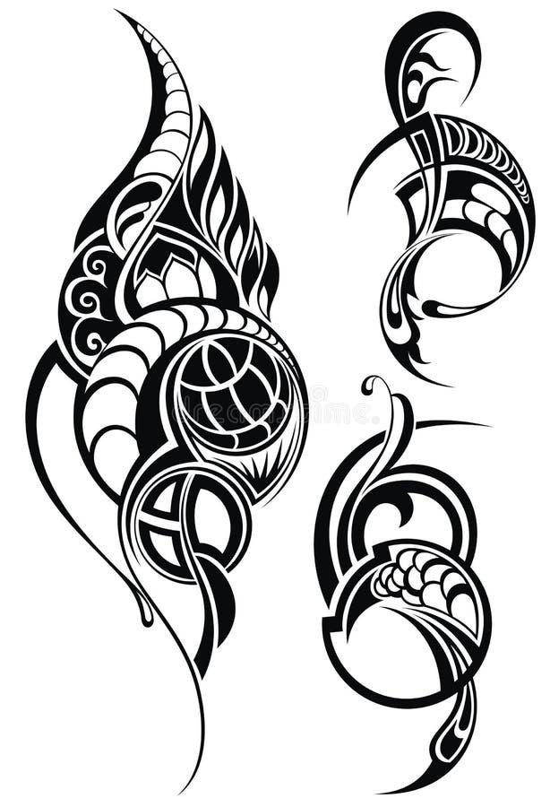 Tatouage Design illustration stock