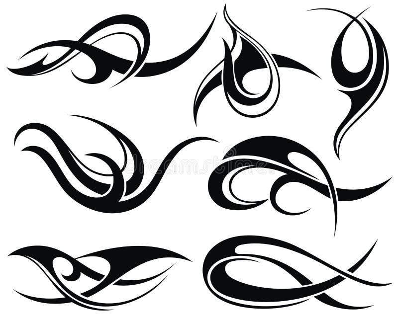 Tatouage Design illustration libre de droits
