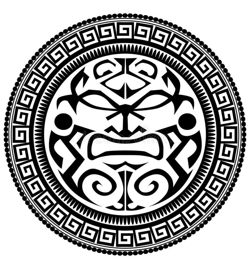 Tatouage polynésien illustration libre de droits