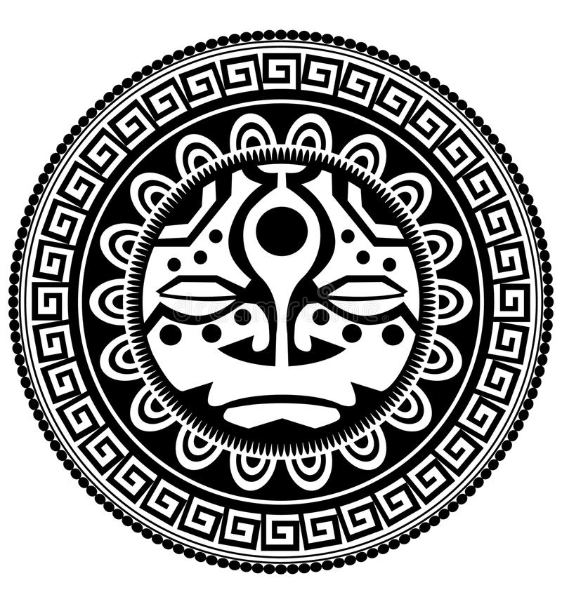 Tatouage polynésien illustration stock