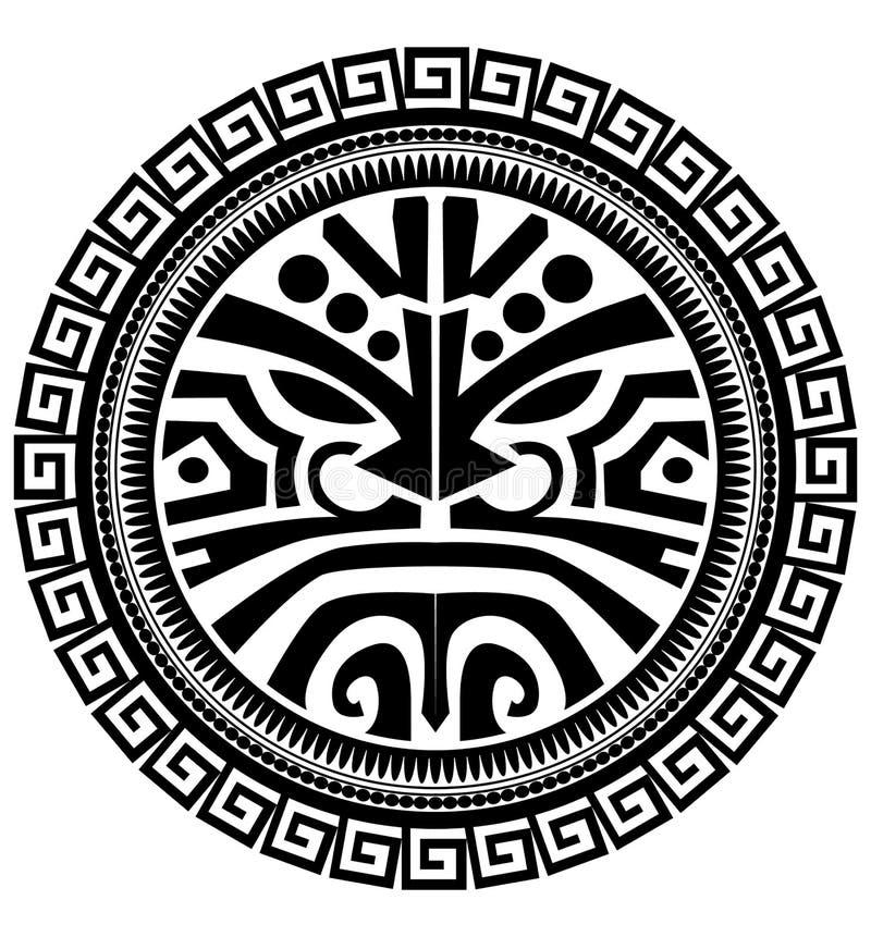 Tatouage polynésien illustration de vecteur