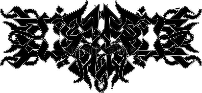 Tatouage tribal illustration stock