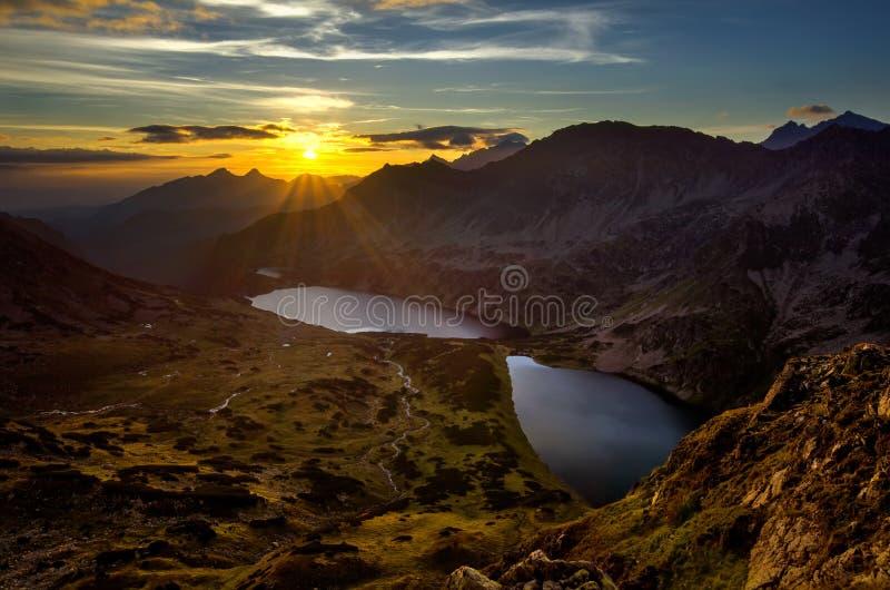 Tatra五个湖 免版税库存图片