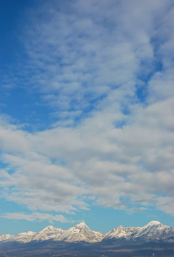 tatra υψηλών βουνών στοκ εικόνα με δικαίωμα ελεύθερης χρήσης