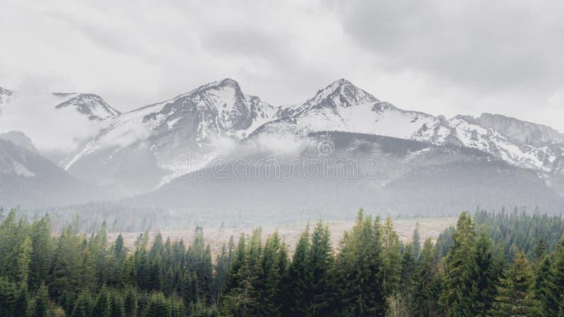 tatra υψηλών βουνών στοκ εικόνες