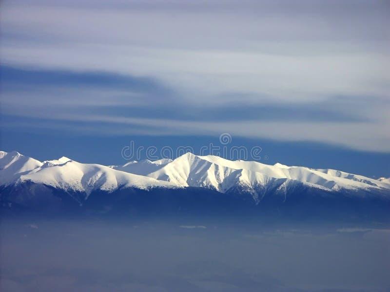 tatra горной цепи стоковое изображение rf