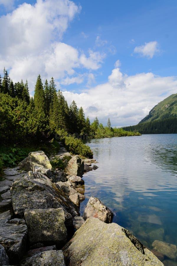 Tatra berg fotografering för bildbyråer