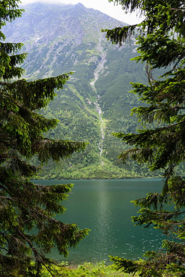 Tatra berg royaltyfri foto