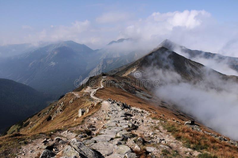 Tatra Berge im Herbst lizenzfreies stockfoto