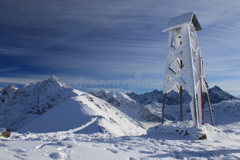 Tatra herdenkingsklok royalty-vrije stock afbeelding