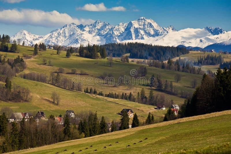 Tatra mountains royalty free stock photo