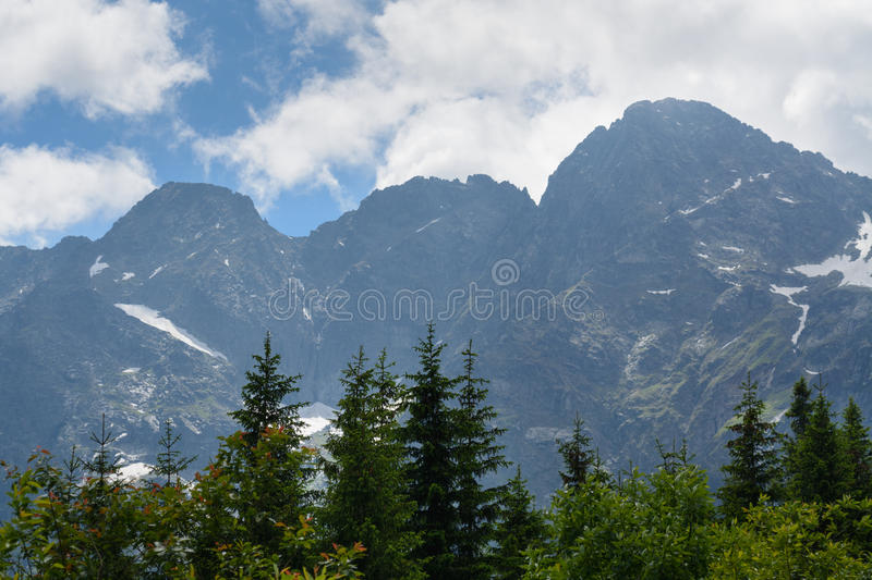 Tatra mountains royalty free stock photos
