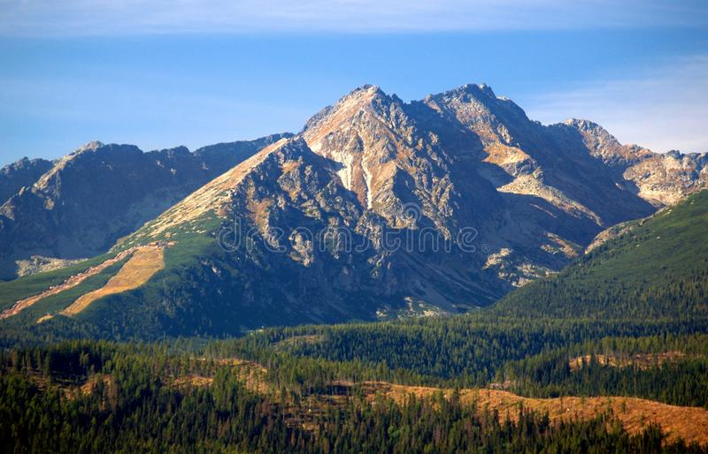Download The Tatra Mountains In Summer Stock Photo - Image: 10990356