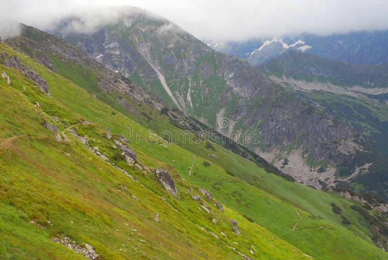 Tatra mountains summer view stock photos