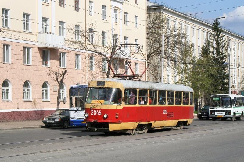 Tatra T3SU στοκ φωτογραφία
